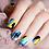 Thumbnail: Art Splatter Nail Wraps