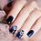Thumbnail: Chevron Blue Nail Wraps