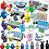Thumbnail: Cstem Among US Game Mini Figures Building Blocks Amongus Action Models Creative
