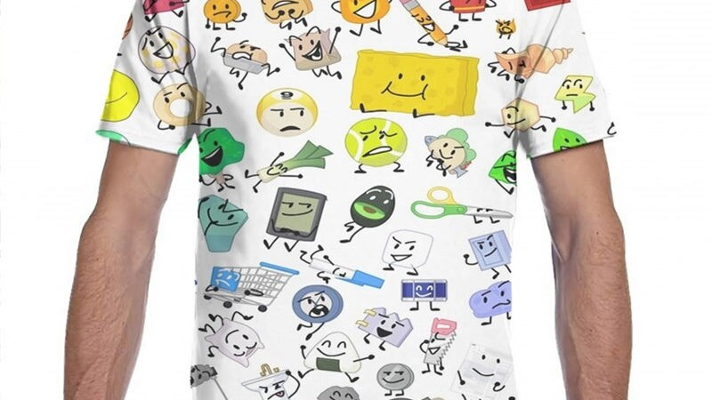 BFB and TPOT Full Cast print T-shirt all ages