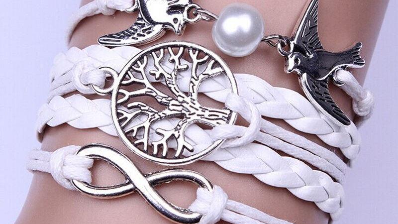 Dove Braided Bracelet