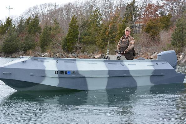 cape cod sea duck hunting boat