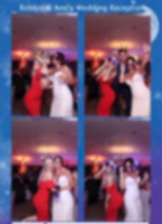 mgic mirror photo print wedding