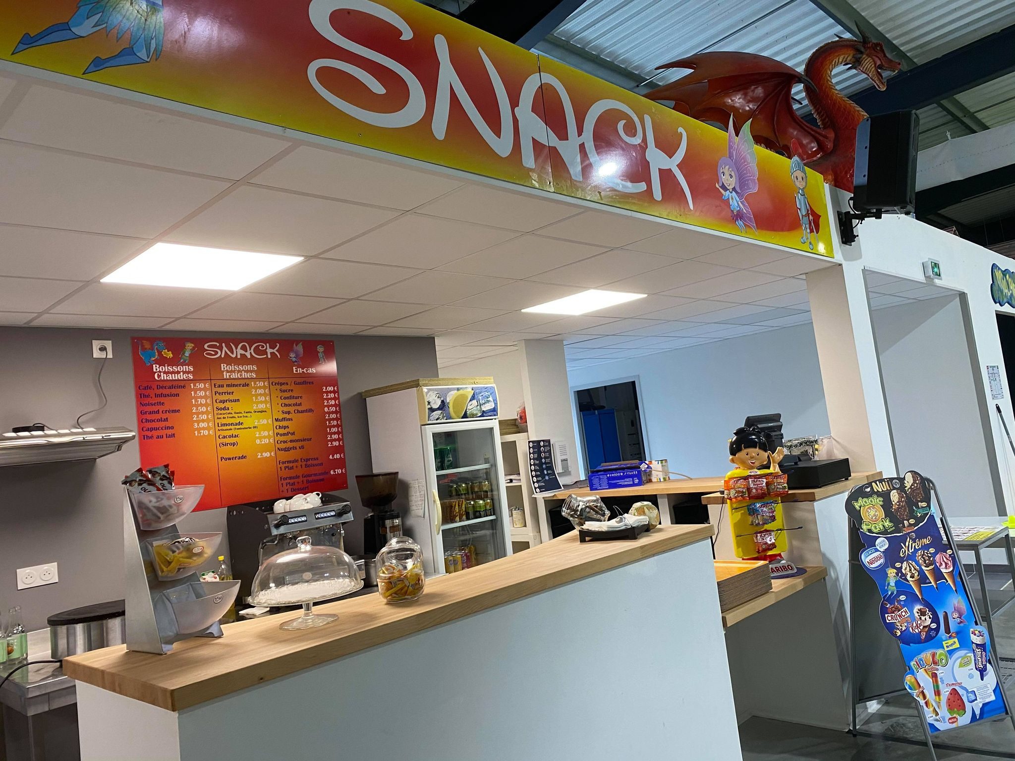 Magic Park Pamiers - Espace snacking