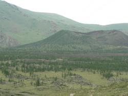 Le volcan Khorgo