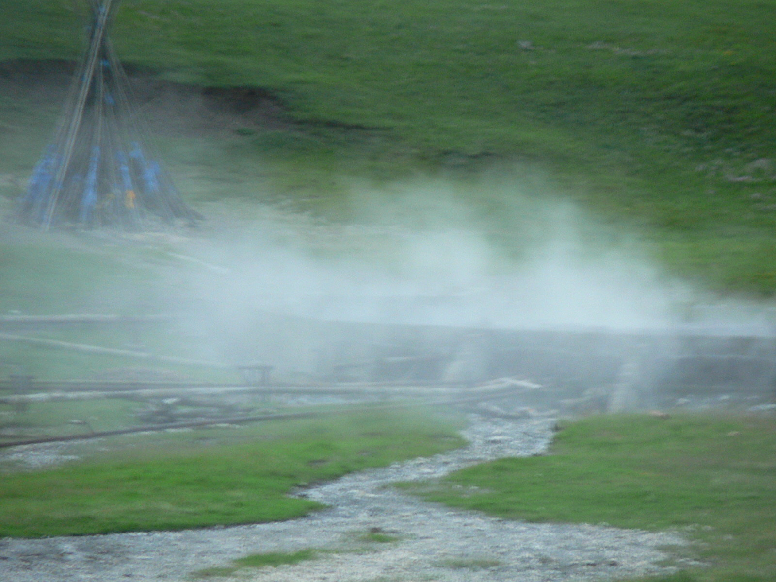 Les sources chaudes de Tsenkher