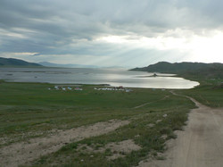 Le lac blanc Terkh