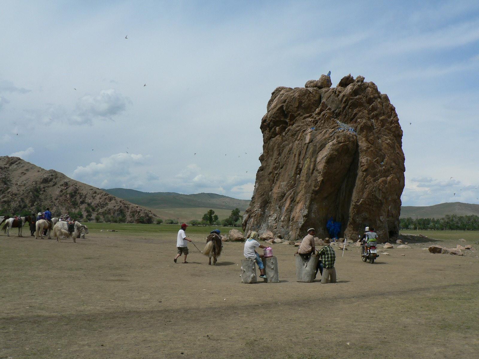 Le rocher Taikhar