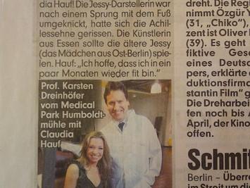 """FRÜHJAHR 2011 / VERLETZUNGSBEDINGTE SPIELPAUSE bei """"HINTERM HORIZONT"""""""