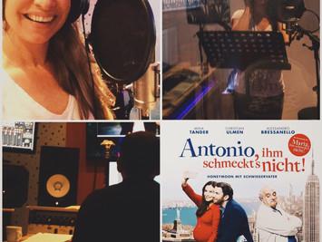 """JULI 2016 - Song für Kinofilm """"ANTONIO, IHM SCHMECKT'S NICHT"""""""