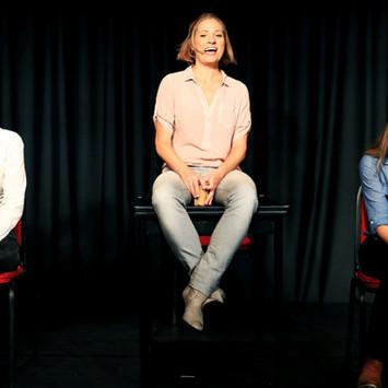 "SEPT 2015 - PREMIERE - HAUF HAUPT & JAKOB, ""Frauen an der Steuer"", Kabarett-Theater Di"