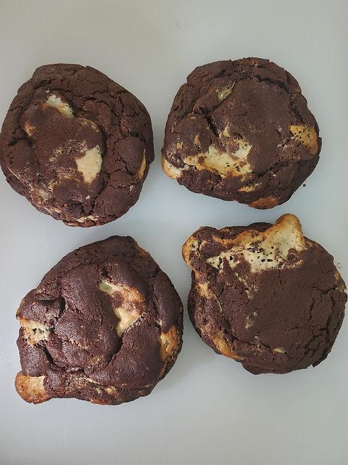 Chocolate Halva Cookie