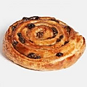 Vanilla Raisins Danish Roll