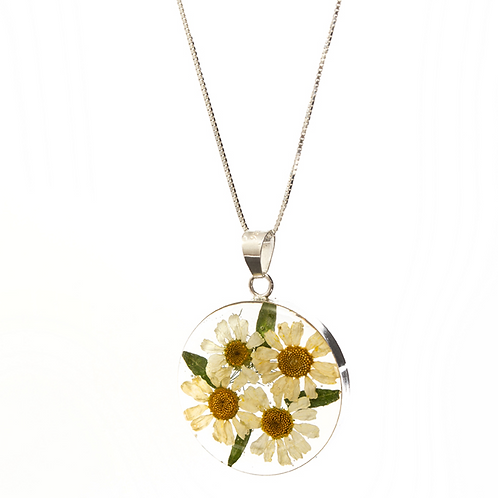 Round Necklace - Daisy Collection