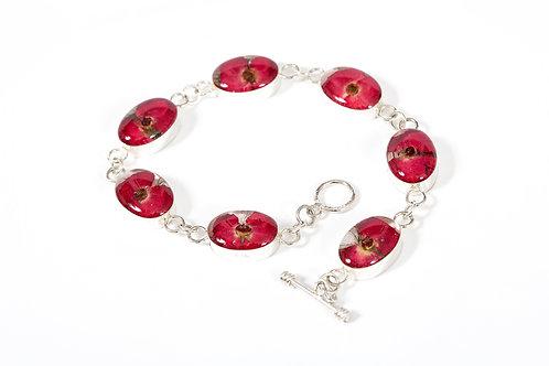 Silver Bracelet - Poppy Collection