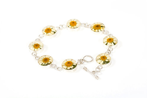 Silver 925 Bracelet - Daisy Collection