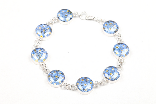 Forget Me Not Bracelet - Silver 925