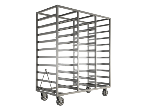 Large Scale Tray Drying Racks for Cannabis Shipped Anywhere