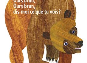 Exploring the book Ours brun, dis-moi
