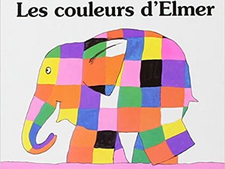 Exploring The Book Les Couleurs d'Elmer