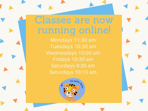 We're Back with Live Stream Classes!