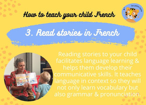 Read stories in French