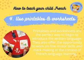Use printables & worksheets