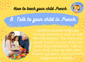 Talk to your child, try playgroups & classes
