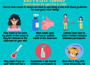 Class Covid guidance - keeping you safe!