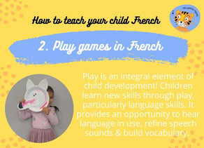 Play games in French