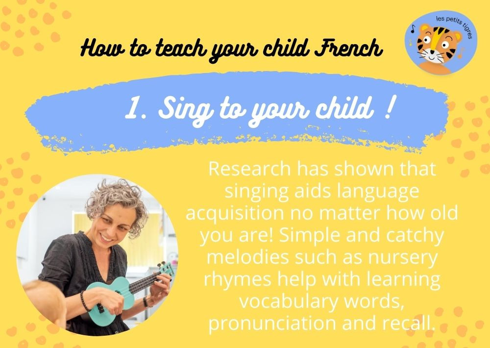 Singing in French With Your Child