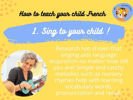 How To Teach Your Child French