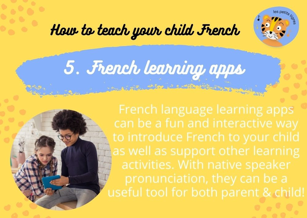 French Learning Apps For Your Child