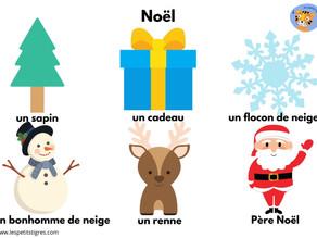 Christmas crafts & free French printable