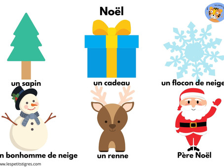 Christmas crafts & free French printable