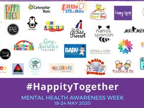 Mental Health Awareness Week with Happity 18-24 May 2020