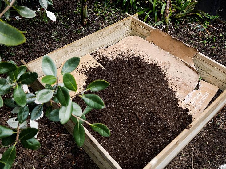 Kit set garden & 1/2 m3 of Supreme garden mix - soil