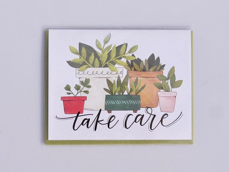 Greeting card - Take Care