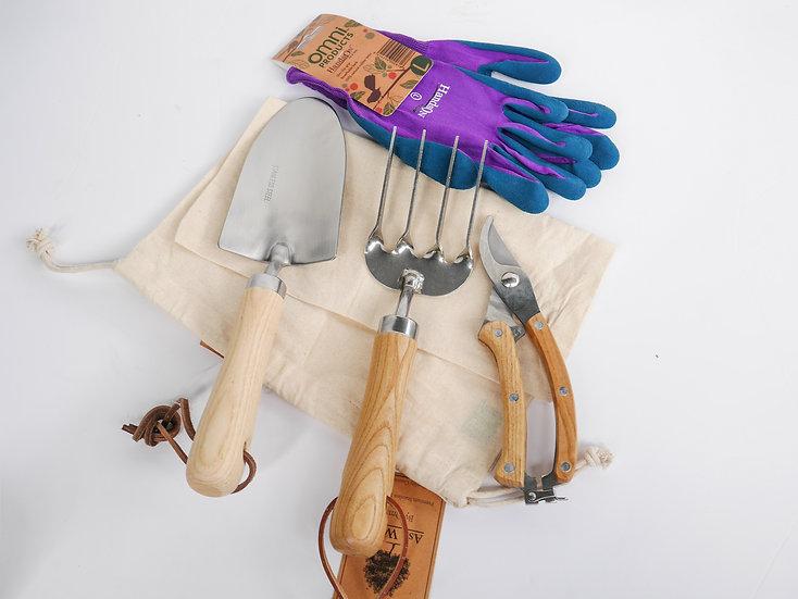 Garden tool gift set