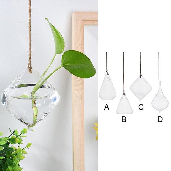 Hanging Glass Ball Vase