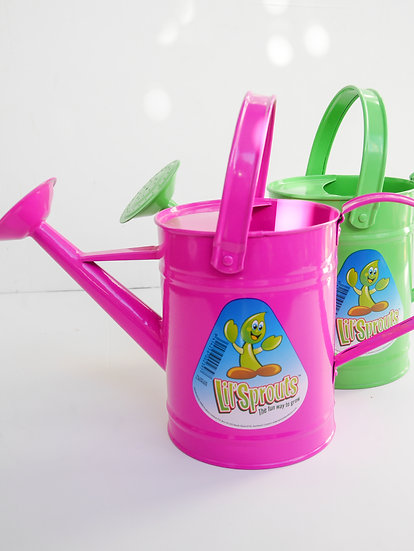 Lil Sprouts - metal watering can