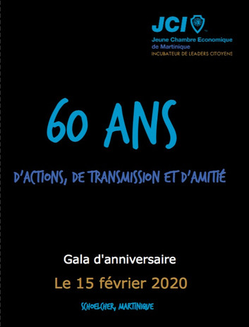 Book JCI Martinique 60 ans