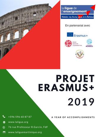 ERASMIUS +  OCTOBER 2019