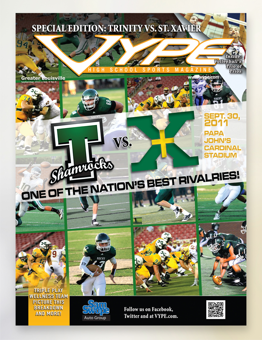 VYPE – Cover Sept 2011