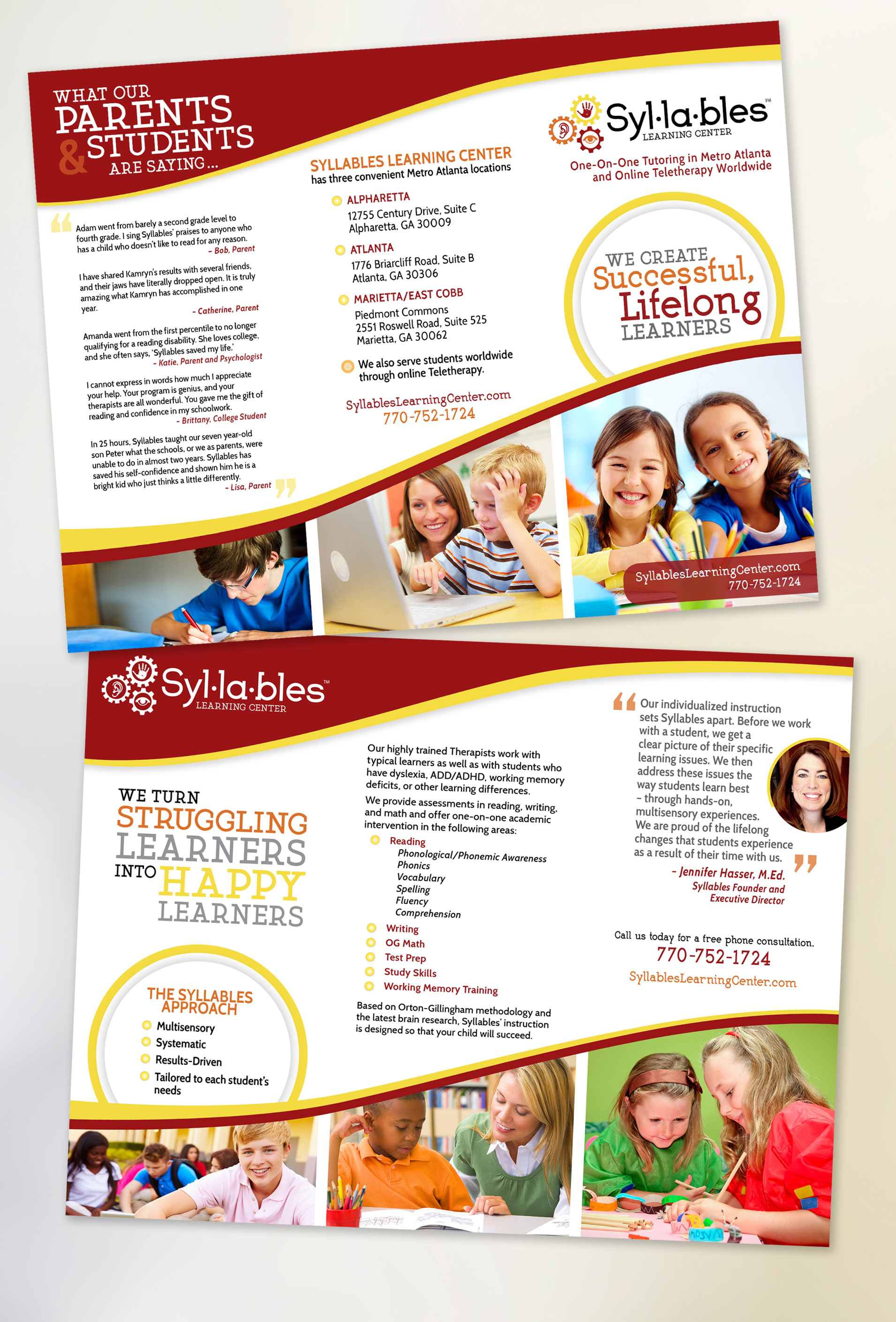 Syllables – brochure