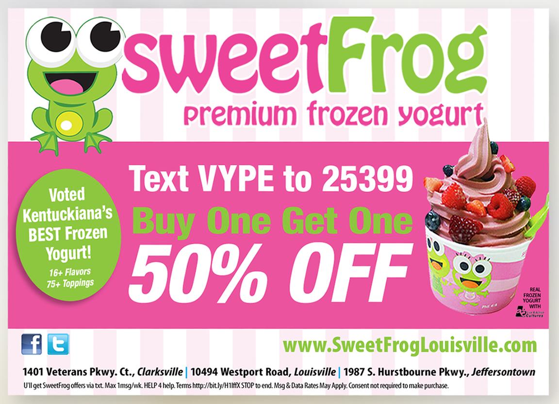 Ad - Sweet Frog