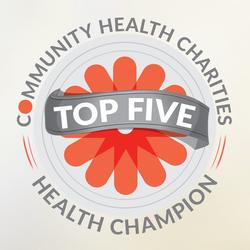 CHC –Top 5 Charities seal
