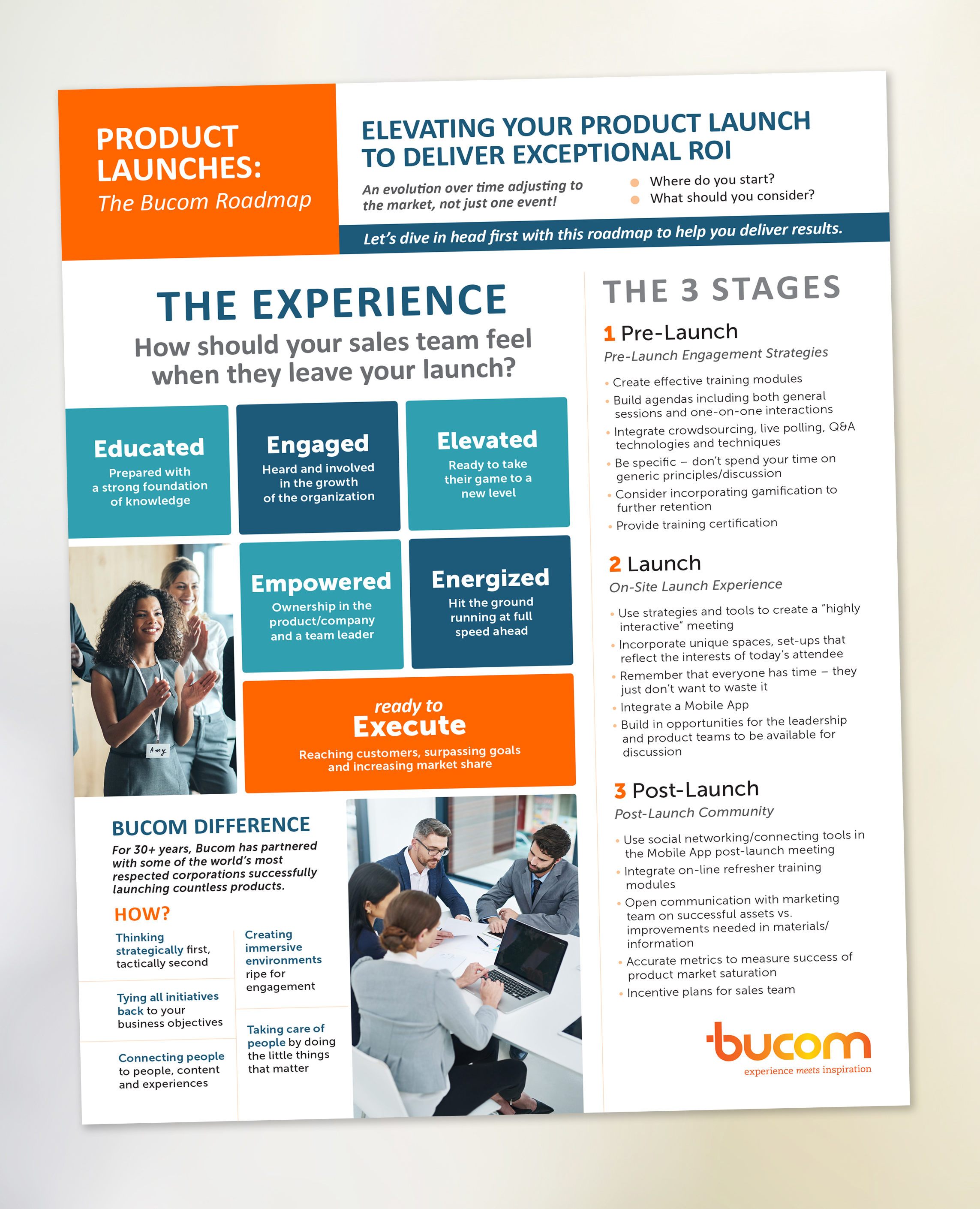 Bucom - Product Launch