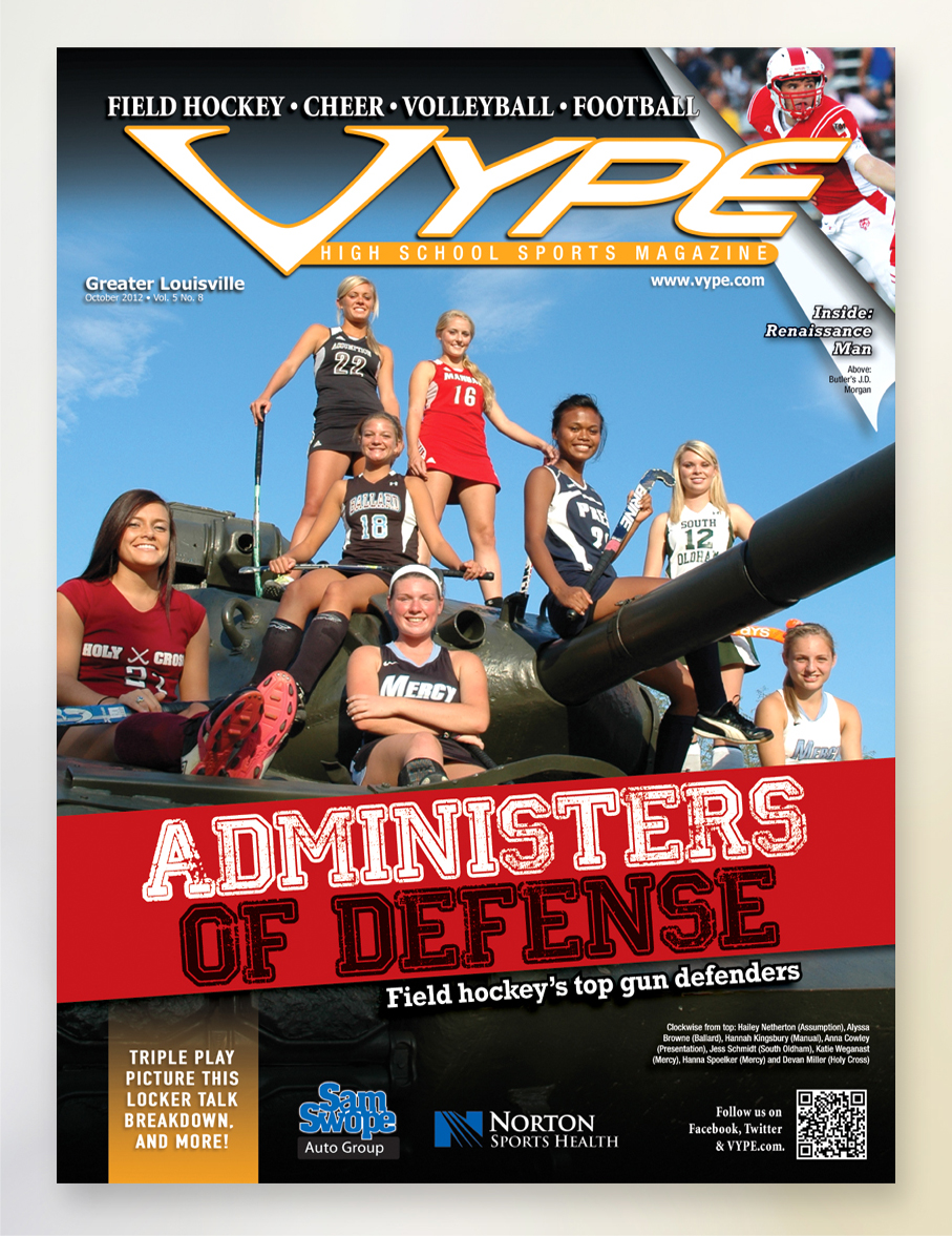 VYPE – Cover Oct 2012