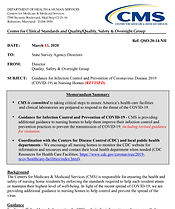 NH Infection Control CMS QSO-20-14-NH -